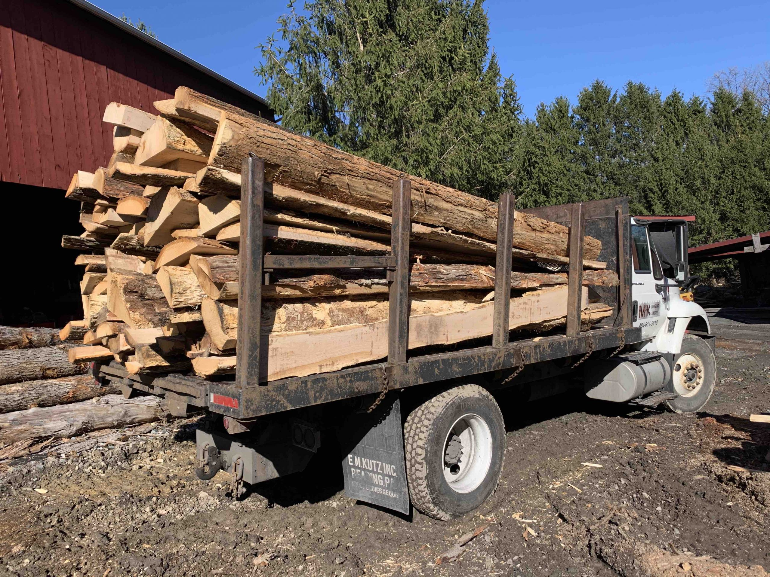 Slab Wood Lehigh Township